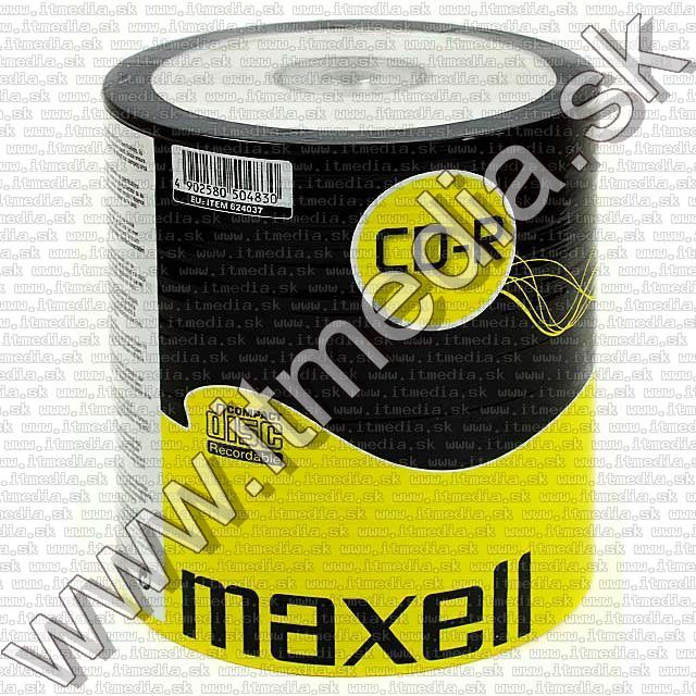 Image of Maxell CD-R 52x 100cw (IT4466)