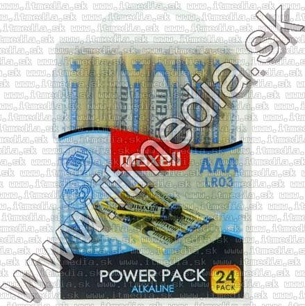 Image of Maxell battery ALKALINE 24xAAA LR03 (IT10314)