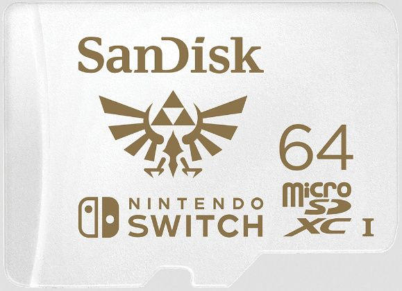 Image of Sandisk Nintendo Switch™ microSD-XC card 64GB UHS-I U3 V30 [100R60W] (IT14570)