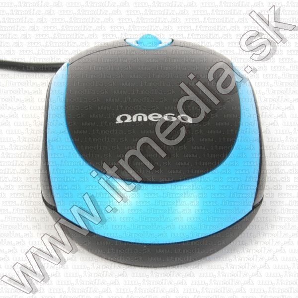 Image of Omega Optical Mouse USB (OM 06V) 800dpi Blue (41644) (IT8920)