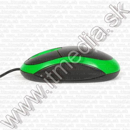 Image of Omega Optical Mouse USB (OM 06V) 800dpi Green (41879) (IT9659)