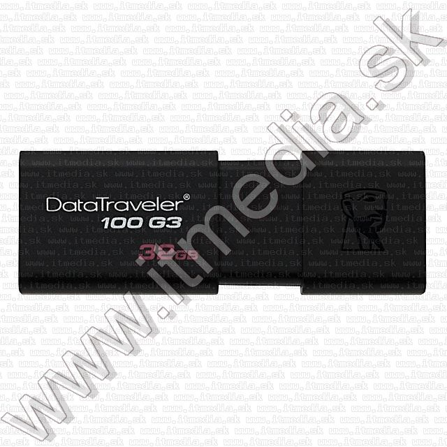 Image of Kingston USB 3.0 pendrive 32GB *DT 100 G3* (100/10 MBps) (IT8866)