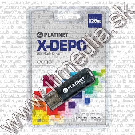 Image of Platinet USB pendrive 128GB X-Depo (41590) [15R5W] (IT8427)