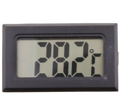 Image of Digital LCD Thermometer Black (IT14113)