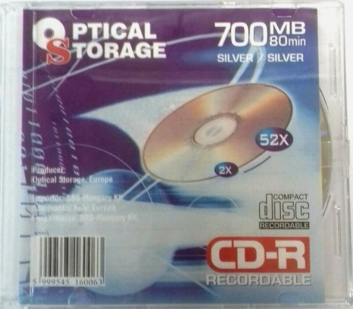 Image of Optical Storage CD-R 52x **Slim** Silver INFO!!!!!!!! (IT14166)